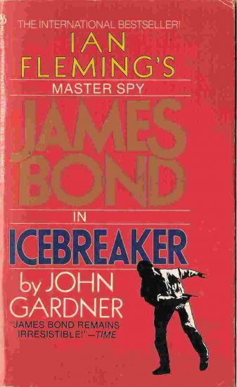 James Bond in Icebreaker; John Gardner