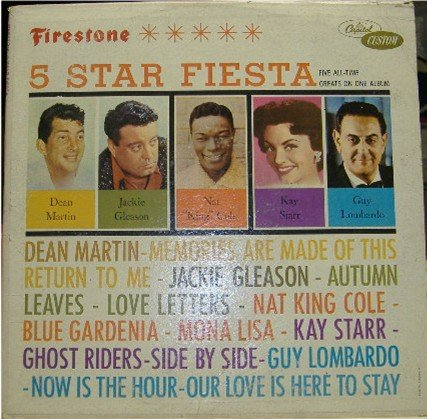 5 Star Fiesta; Martin, Gleason, Cole, Starr, Lombardo