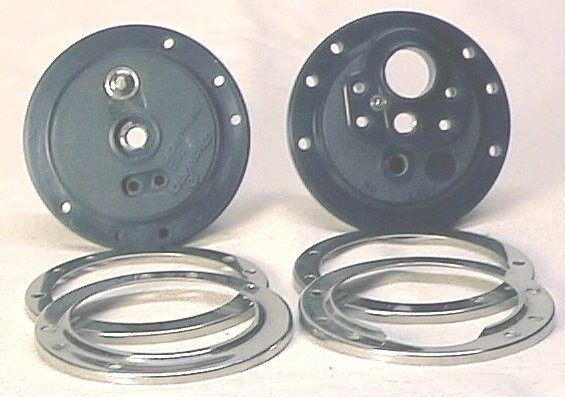 Olympic Fishing Reel Parts Side Plates & Trim Rings 611