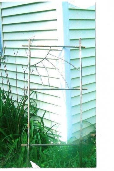 Garden Trellis   copper yard art