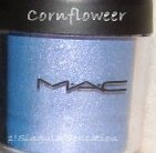 NEW MAC Pigment CORNFLOWER eyeshadow blush lipstick UNBOXED