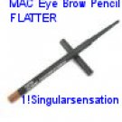 NEW MAC Eyebrow Pencil FLATTER *LIGHT BLONDE*