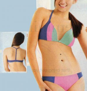 ALT-BRA Non-wire Brassiere and Panties Set (Teen Sizes)