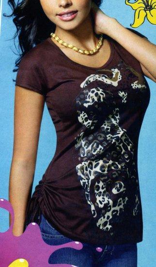 NLW-BAG Brown Long Shirt