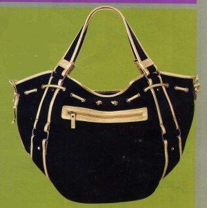NB-HES Black PolyCanvas Bag