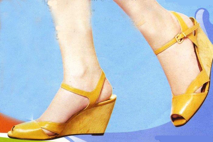 NLS-KEL Tan Chic Shoes