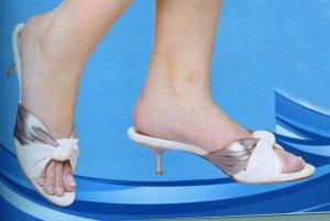 NLS-AZA Off-White Heeled Sandals