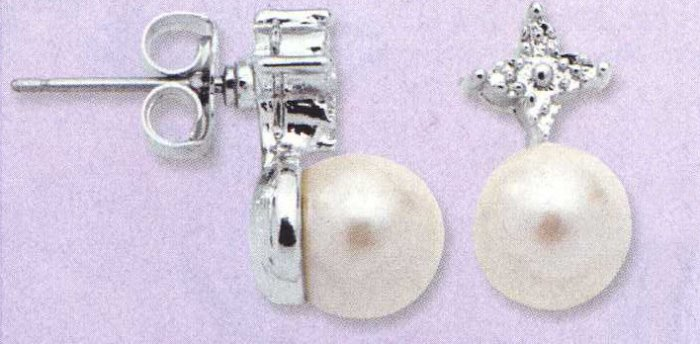 AA-PDE Pearl Earrings