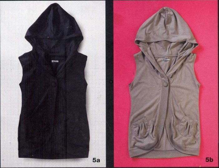 RE-DZ7 Hoodie Vest