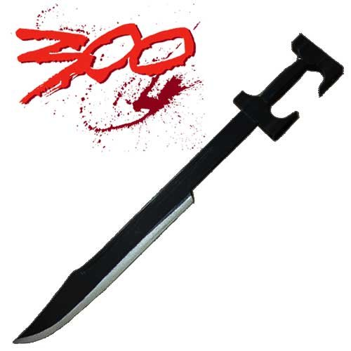 Wooden spartan sword replica