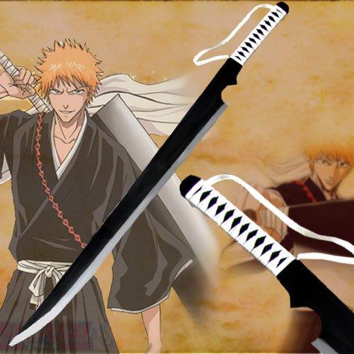 "52""-Ichigo Wooden Zangetsu Sword(Bleach)"