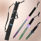 3Pcs Ninja Warrior titanium Sword Set