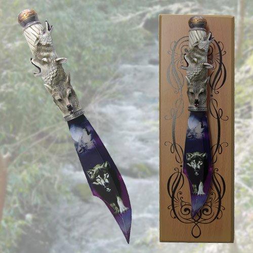 Fantasy Wolf Dagger