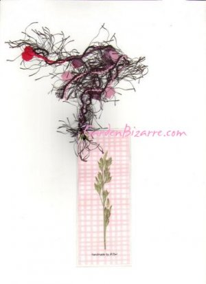 Pressed Flower Bookmark -  Free Shipping - SALE