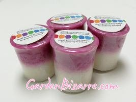 Soy Votive Candle - Set of 4 - Strawberry Scented