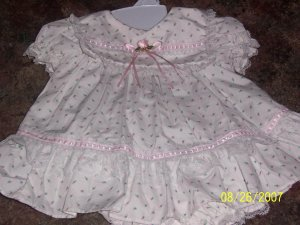 Infant girls Easter Dress size 0-3 months EUC wore 1 time by BRYAN