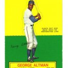 1964 Topps STANDUP - George Altman