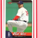 JOSH BECKETT - Boston Red Sox - 2007 Fleer #277