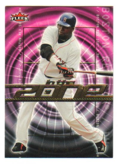 "DAVID ORTIZ - 2007 Fleer ""IN THE ZONE"" #IZ-DO"