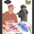 TROY TULOWITZKI - 2007 Topps Co-Signers - Rookie - AUTO #136/275