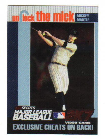 MICKEY MANTLE - 2007 Topps *Unlock the Mick* complete set 1-5