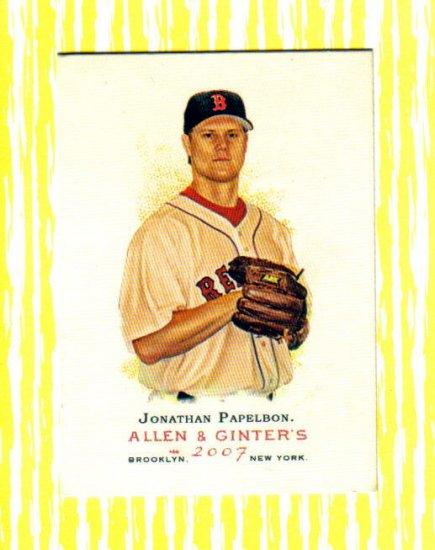 JONATHAN PAPELBON - 2007 Allen & Ginter #37
