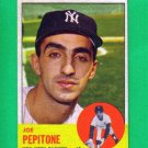 JOE PEPITONE - 1963 Topps #183 - Yankees