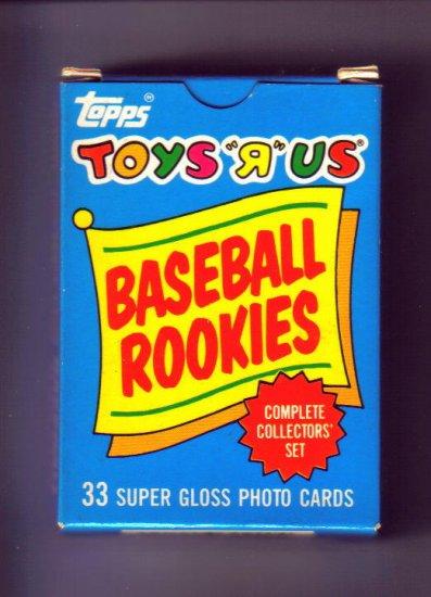1987 TOYS r US Baseball Rookie Set - includes BARRY BONDS