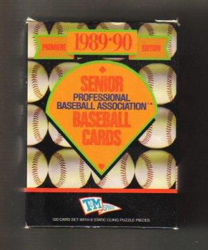 1989-90 SENIOR Professional Baseball Cards
