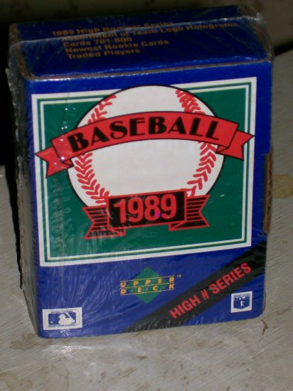 1989 Upper Deck (First Year!!) High # Series set - Factory Sealed