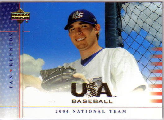 IAN KENNEDY - NY Yankees - 2004 Upper Deck USA - Rookie card #34