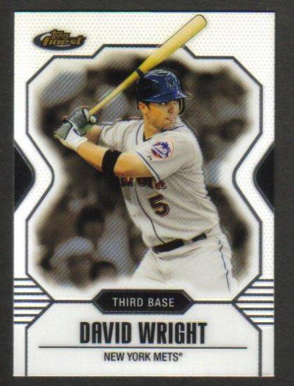 DAVID WRIGHT - NY METS - 2007 Topps Finest #1