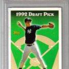 DEREK JETER - 1993 Topps #98 Rookie card - PSA Mint 9