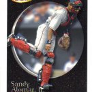SANDY ALOMAR, Jr. - 2001 Fleer Futures BLACK GOLD #d 120/499