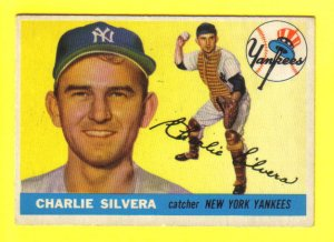 NY YANKEES - 1955 Topps #188 - CHARLIE SILVERA