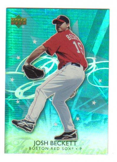 JOSH BECKETT - Boston Red Sox - 2006 Upper Deck  - Future Stars