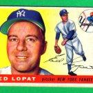 ED LOPAT - NY Yankees - 1955 Topps #109