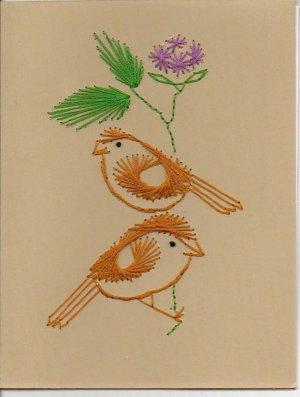 Crafty Birds Greeting Cards