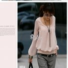 Comfy Stylish Korean Fashion Pink Tee C04765PG