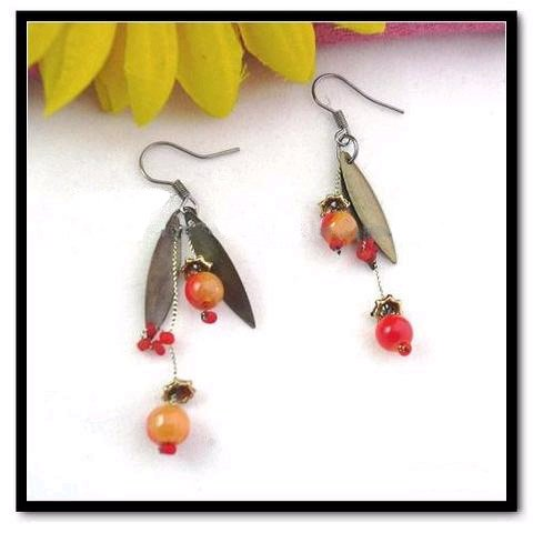 Fruits of Joy Earrings- New Age from Tibet/Nepal