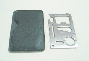 Multi Function Pocket Survival Card Tools
