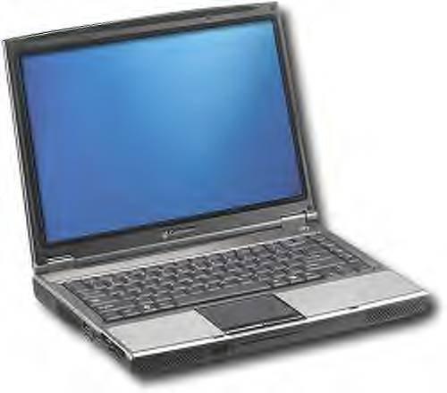 Window XP laptop