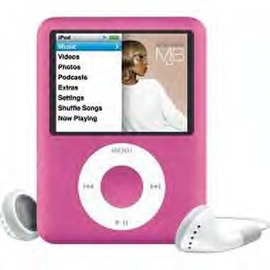 Apple iPod Pink 8GB Nano 3RD GEN.