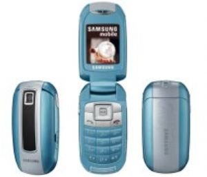 Samsung Light Blue Unlocked Gsm Cell Phone