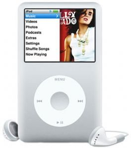 iPod Classic 80GB Portable MP3 Player Generation 6