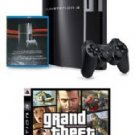Playstation-3  40GB w/Bonus Grand Theft Auto lV (PS3) & Playstation Network Blue Ray Dic