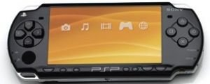 Sony PSP New Slim System - Black Color