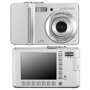 7.0MP Digital Smart Touch Silver Camera