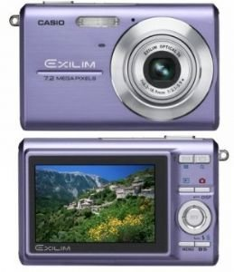Casio 7.2MP Digital Camera With 3*Anti Shake Optical Zoom