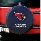 Arizona Cardinals NFL Spare Tire Black Cover